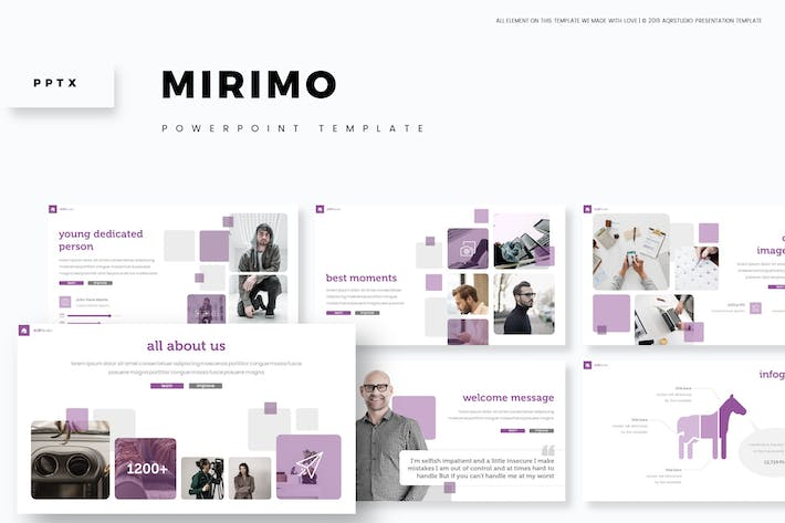 Cover Image For Mirimo - Powerpoint Template