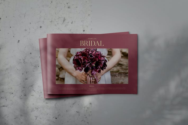 Thumbnail for BRIDAL - Indesign Lookbook Brochure Template