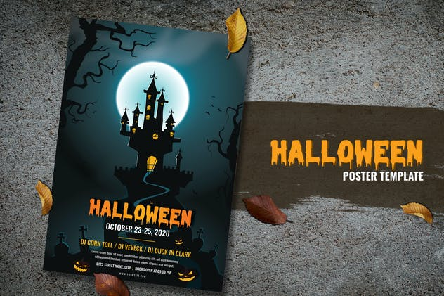 Halloween Monster Flyer