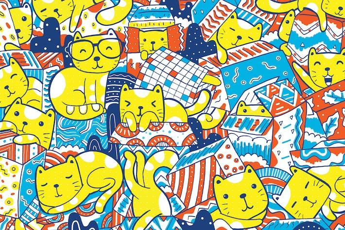 Thumbnail for Katzen spielen mit Box