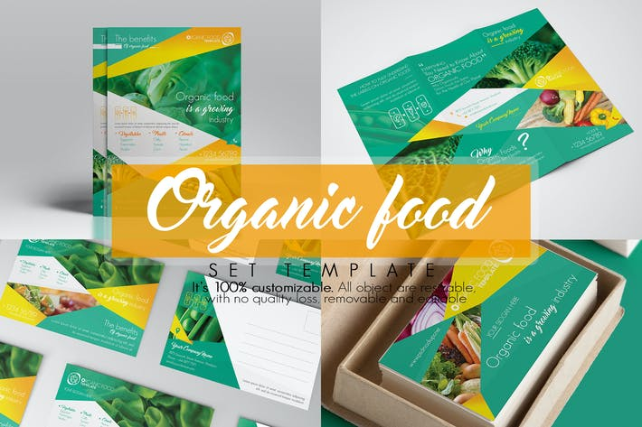 Thumbnail for Organic Food/ Set Template