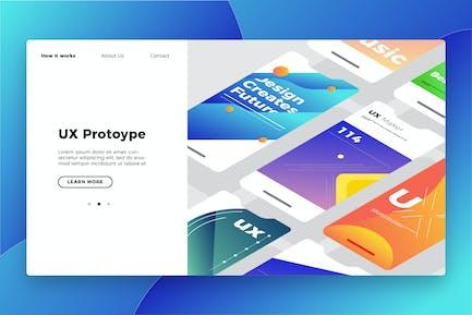 UX Prototype - Banner & Landing Page