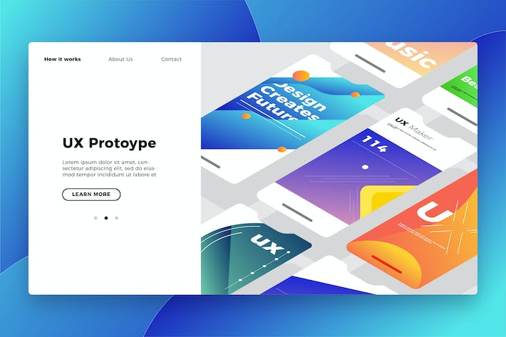 Thumbnail for UX Prototype - Banner & Landing Page