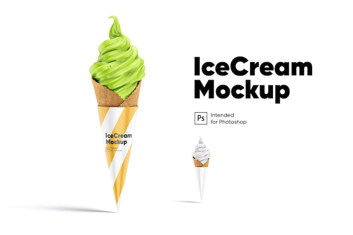 Thumbnail for Ice Cream Mockup