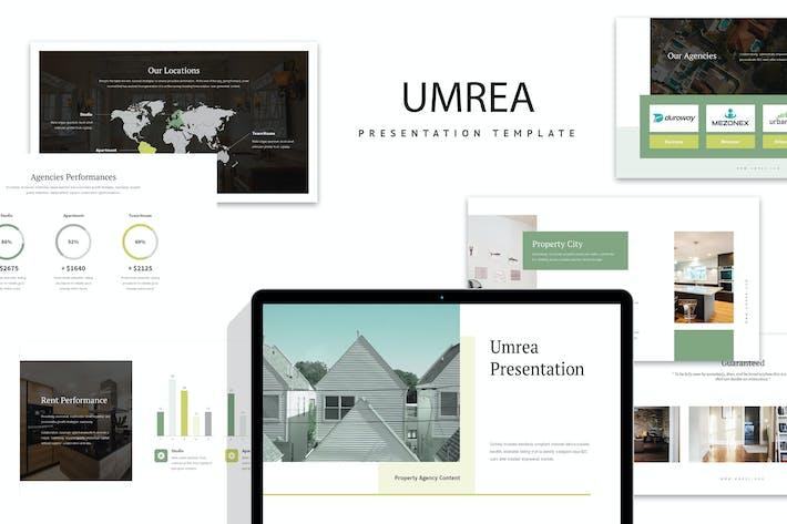 Thumbnail for Umrea: Interior Business Google Slides