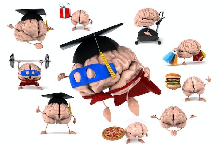 10 lustige Gehirne!