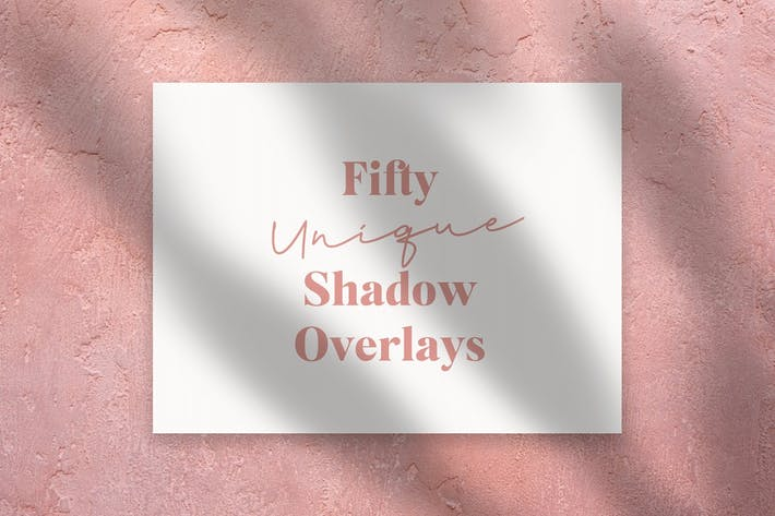 Thumbnail for 50 Unique Shadow Overlays