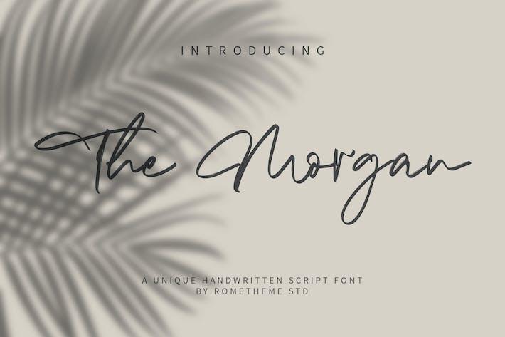 Thumbnail for The Morgan - Signature Script Font YR