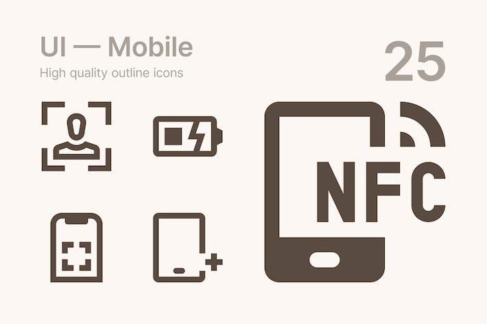 Thumbnail for Interface utilisateur — Mobile