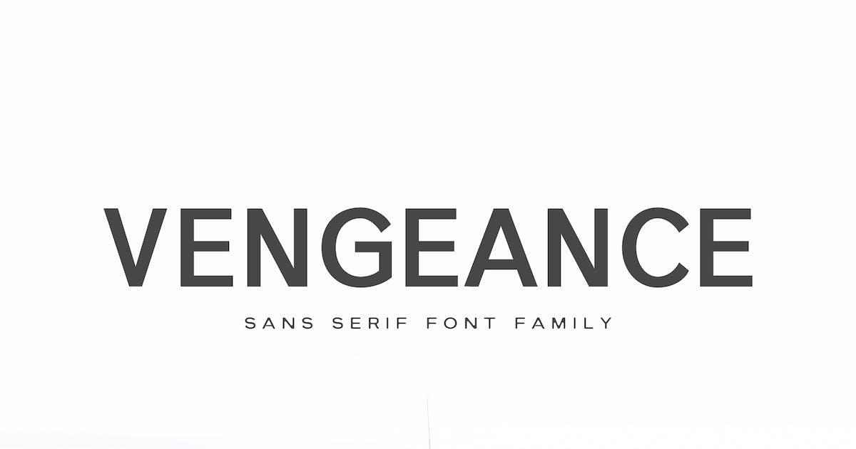Download Vengeance Sans Serif Font Family by creativetacos