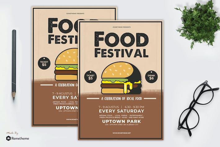 Thumbnail for Food Festival Flyer YR