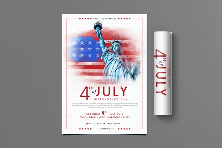 Thumbnail for 4th of July Flyer