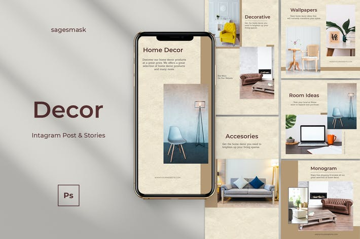 Thumbnail for Decor  Instagram Post & Stories