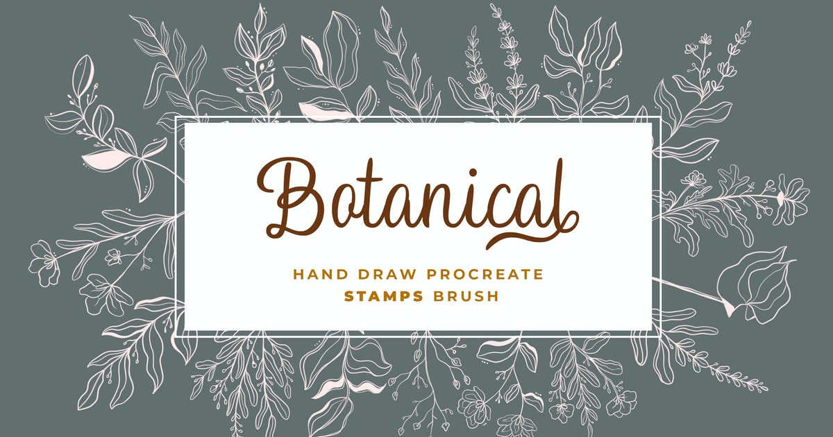 Download Procreate - Floral V.2 Stamps by templatehere