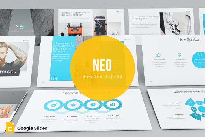 Thumbnail for Neo - Google Slides template
