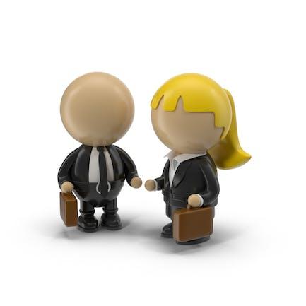 Cartoon Business Characters