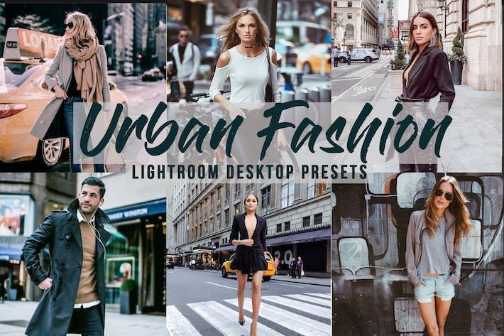 Thumbnail for Urban Fashion - 5 Lightroom Desktop Presets