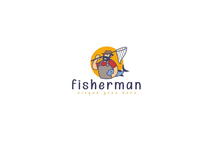 Thumbnail for Fisherman Logo Template