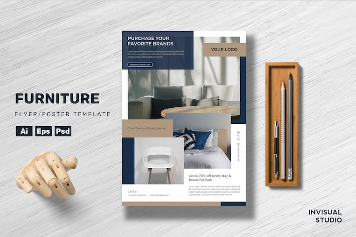Furniture - Flyer Template
