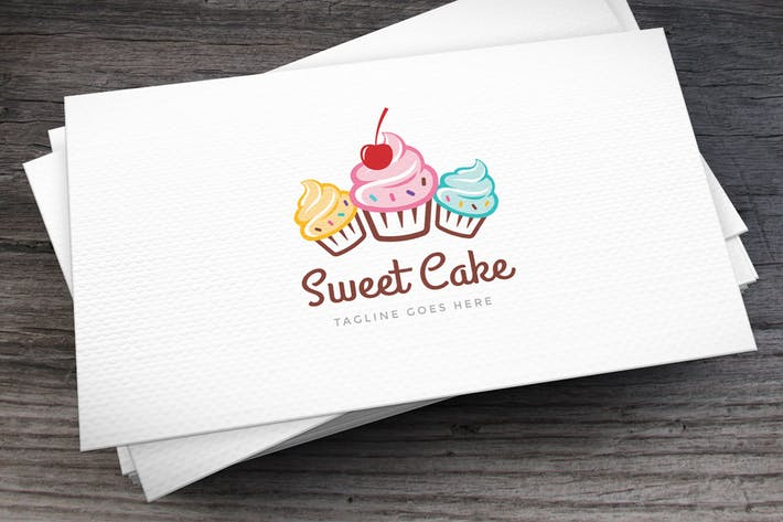 Thumbnail for Sweet Cake Logo Template
