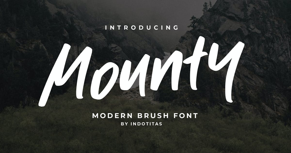 Download Mounty Font by indotitas