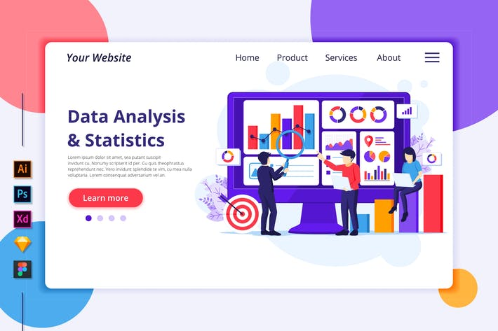 Business Analysis Illustration - Agnytemp