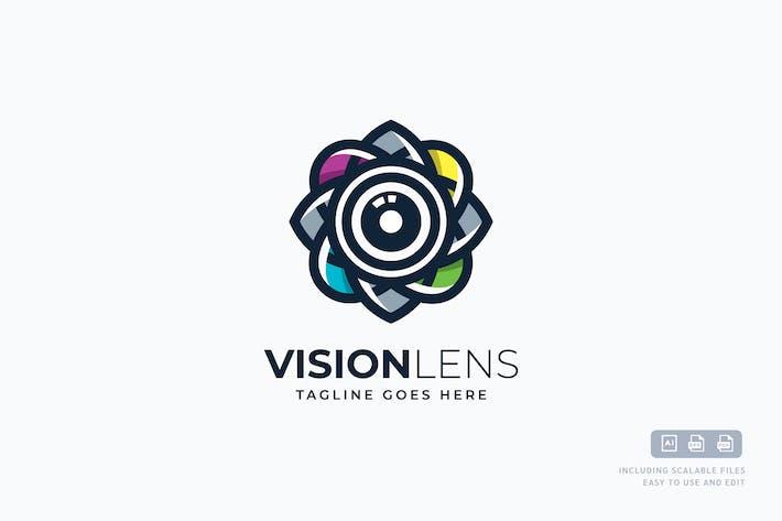 Thumbnail for VISION LENS Logo Template