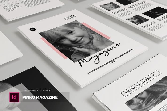 Thumbnail for Pinko | Magazine Template