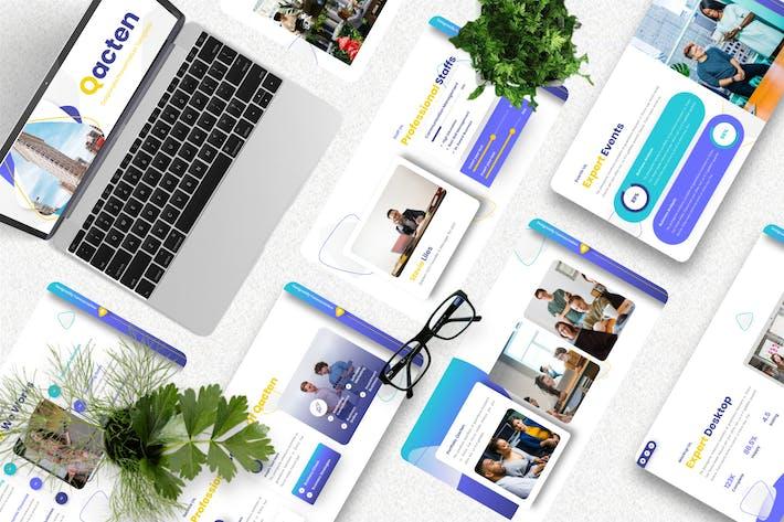 Qacten - Corporate Keynote Template