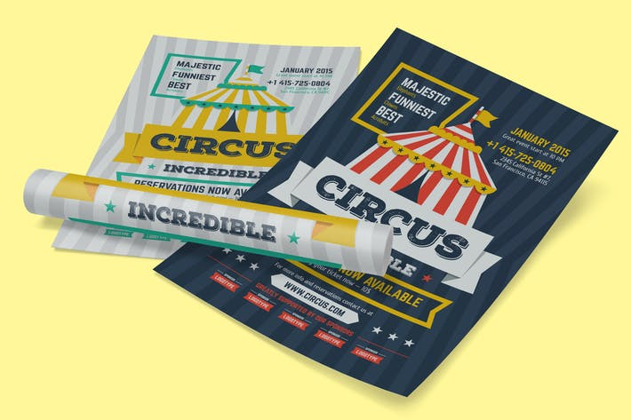 Thumbnail for Circus Poster Template