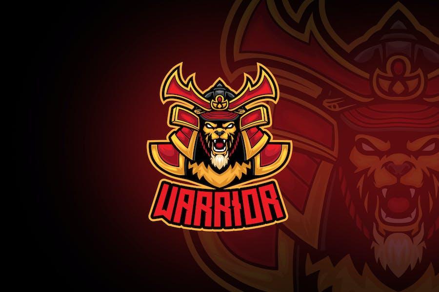 Samurai Lion Esport Logo