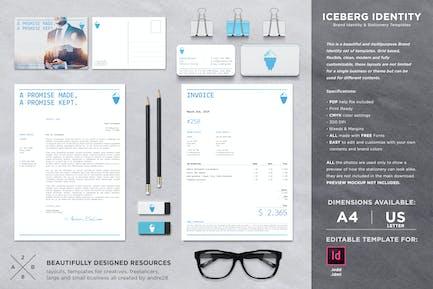 Iceberg Stationery Set & Invoice