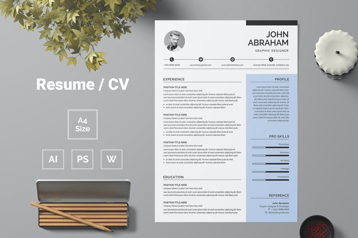 Thumbnail for Resume Template 67