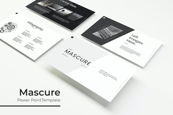 Thumbnail for Mascure - Plantilla de PowerPoint