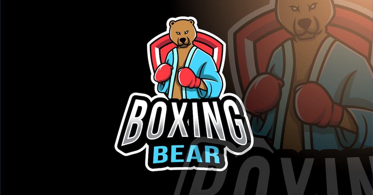 Download Boxing Bear Esport Logo Template by IanMikraz