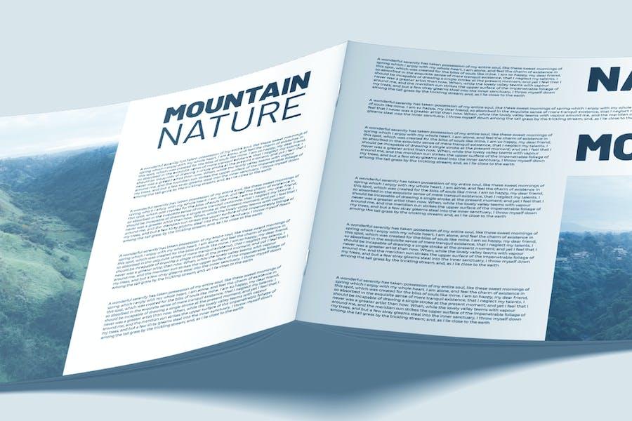 Perspective A4 Landscape Flyer - Mockup