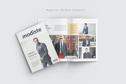 Magazine - Mockup Template