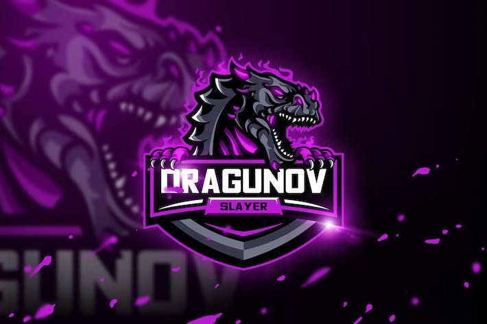 Thumbnail for Dragunov Slayer - Mascot & Esport Logo