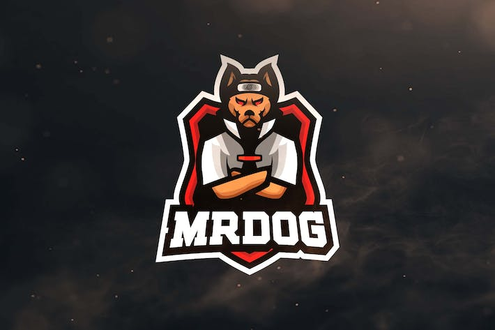 Thumbnail for Mr Dog Sport and Esports Logos