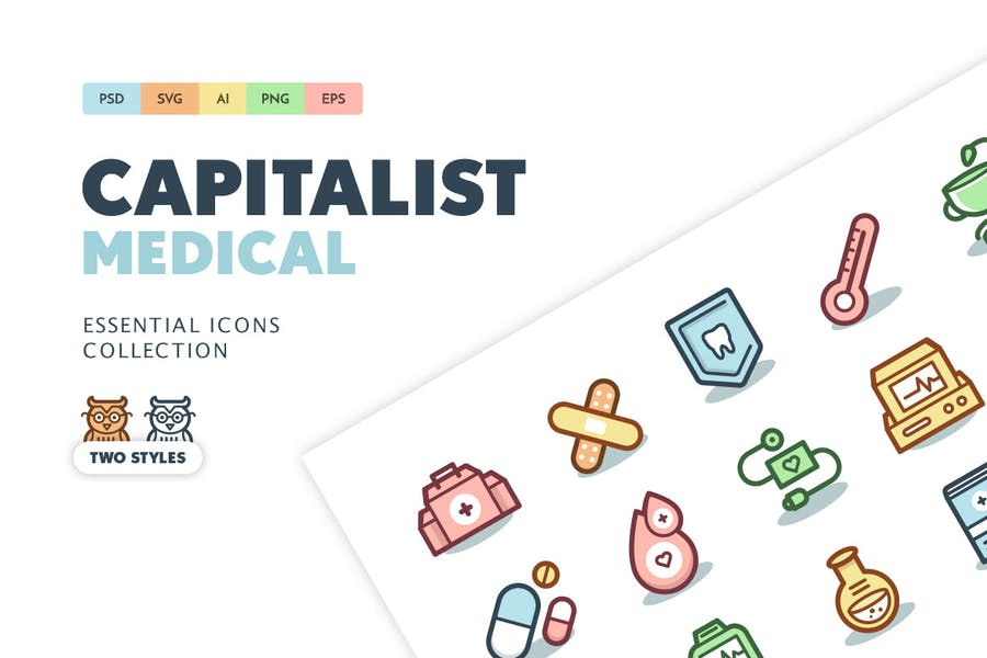 Capitalist Icons: Medical