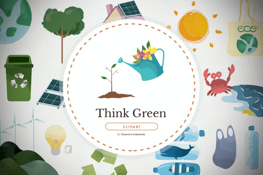 30 Think green and ecology elements