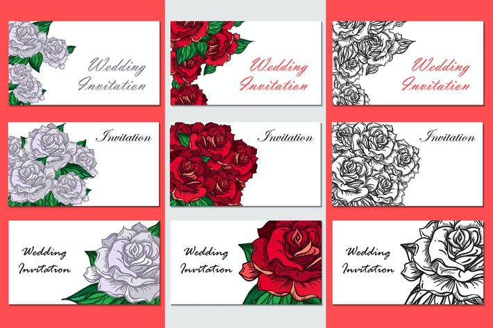 Thumbnail for Romantic Roses Templates