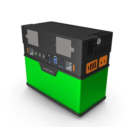 Portable Power Station Green
