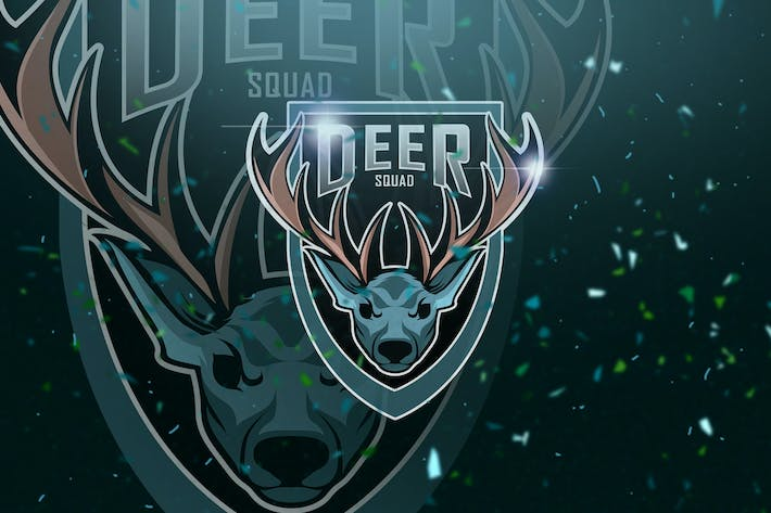 Thumbnail for Deer - Mascot & Esport Logo