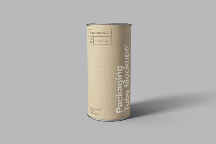Thumbnail for Packaging Tube Mockups
