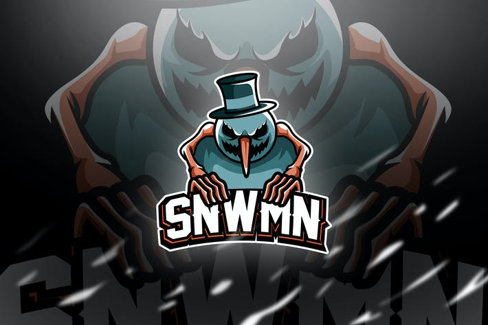 Thumbnail for Snwmn - Mascot & Esport Logo
