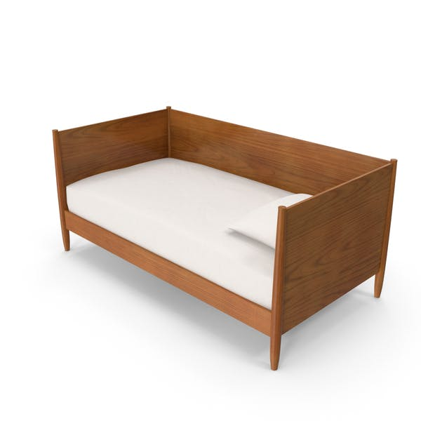 Thumbnail for Mid-Century Modern Daybed