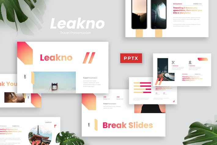 Thumbnail for Lekno - Travel Presentation Template