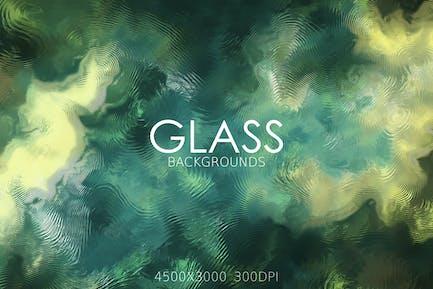 Fondos de vidrio distorsionados