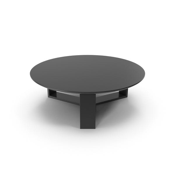 Thumbnail for Round Coffee Table Black